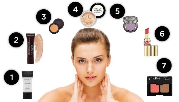 How To Apply Basic Makeup Step By