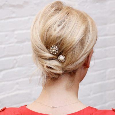 low bun professional hairstyles