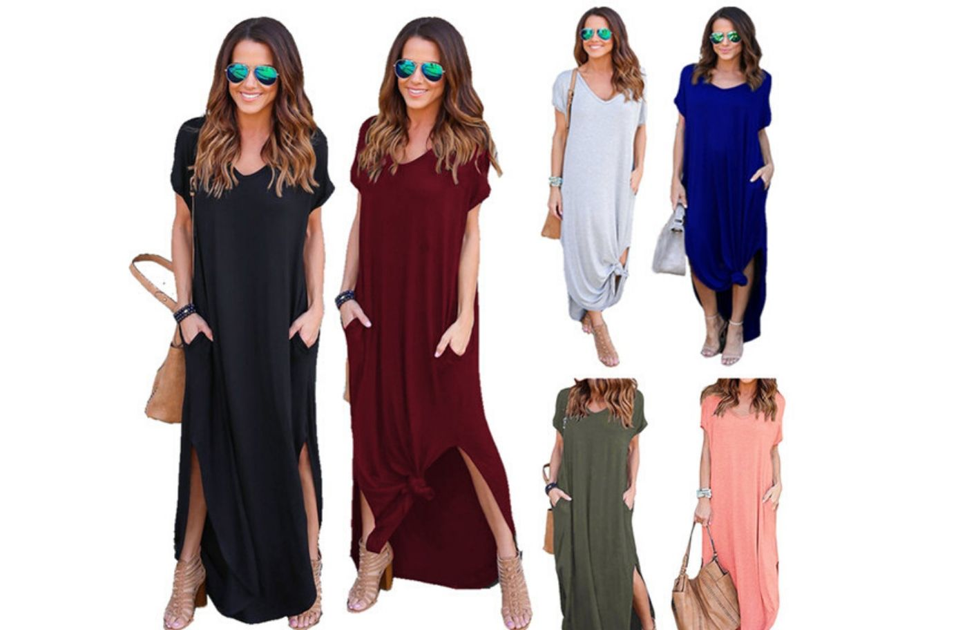 Some Best Options for Stylish Maxi collection for Short Women
