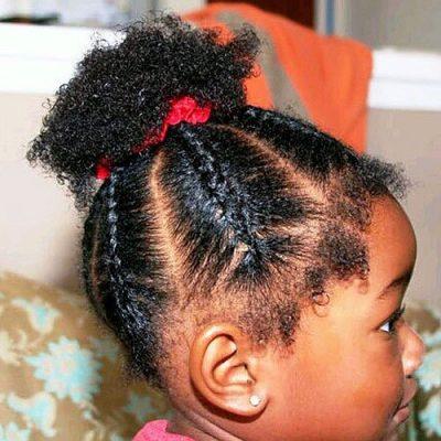 ponytail for black women