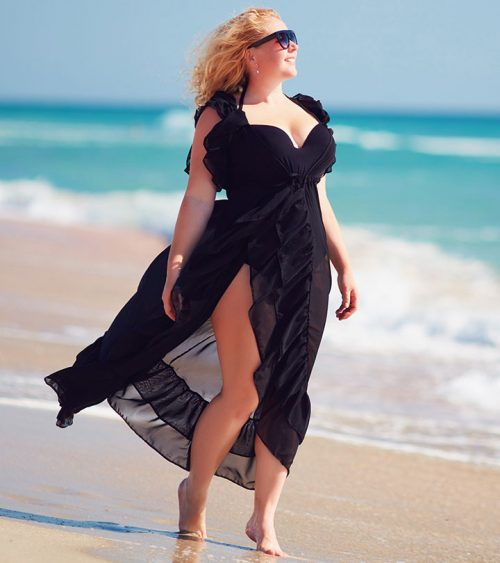 Plus-size Dress For Beach