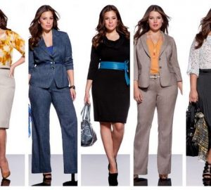 plus size business attire