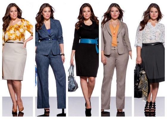 plus size business attire