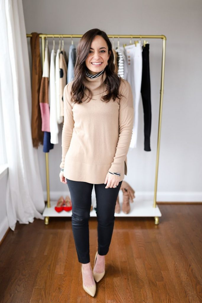 well-fitted petite trousers