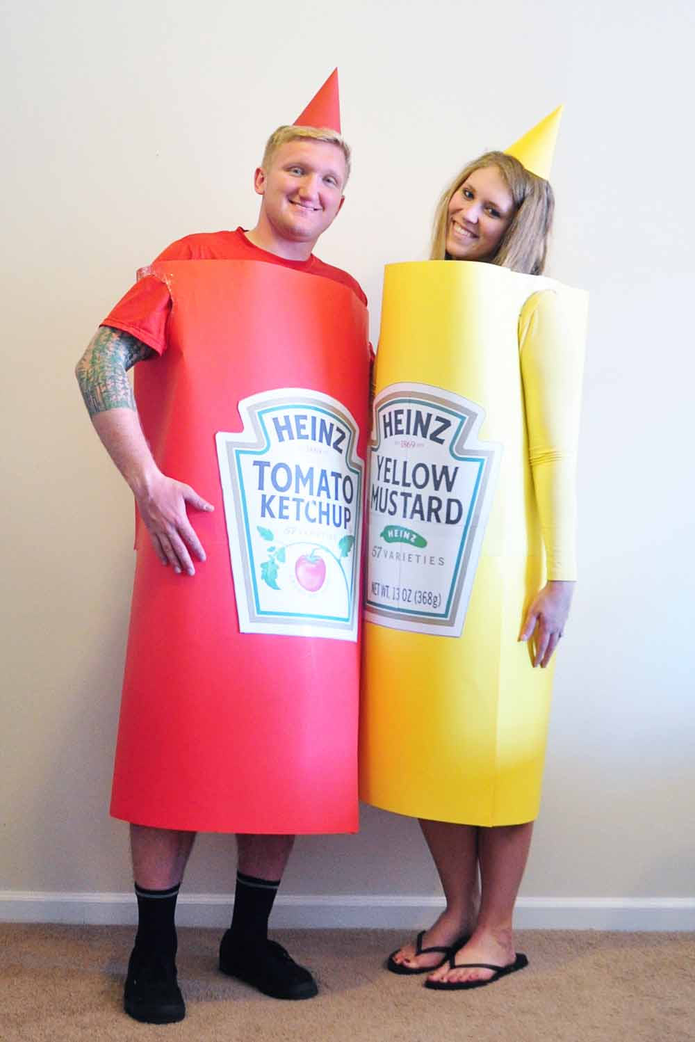 homemade halloween costumes for couples