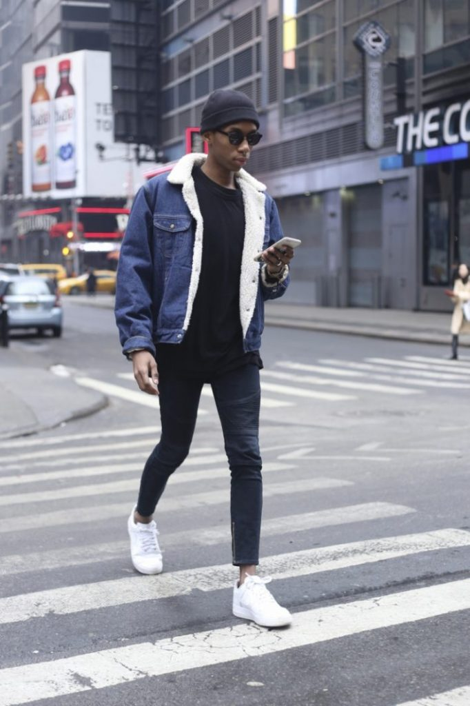 how to style denim jacket