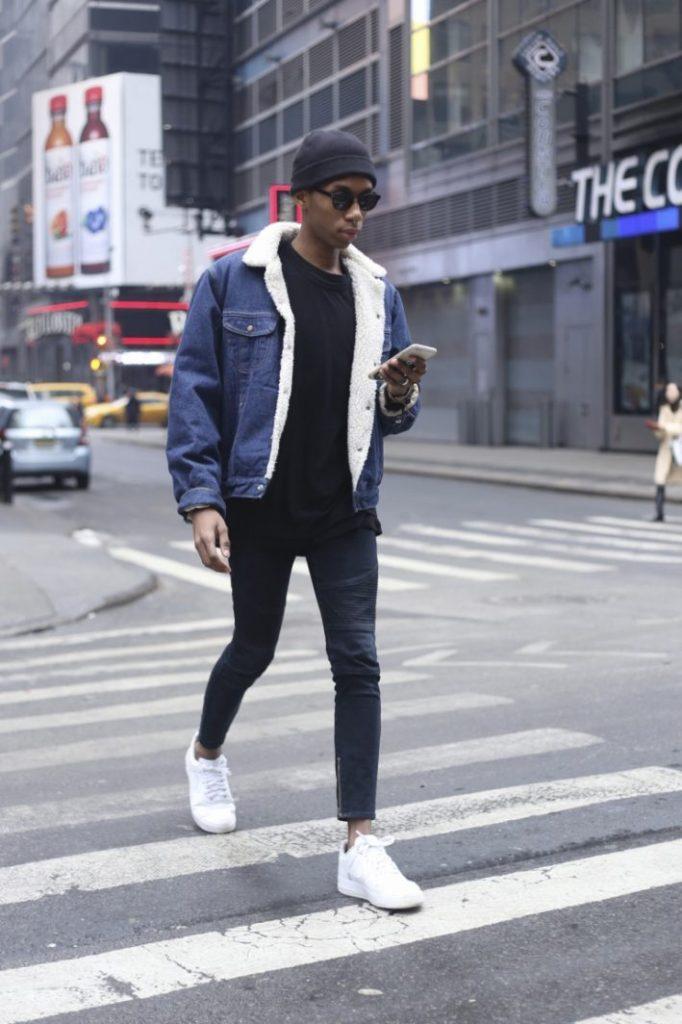 how to style denim jacket