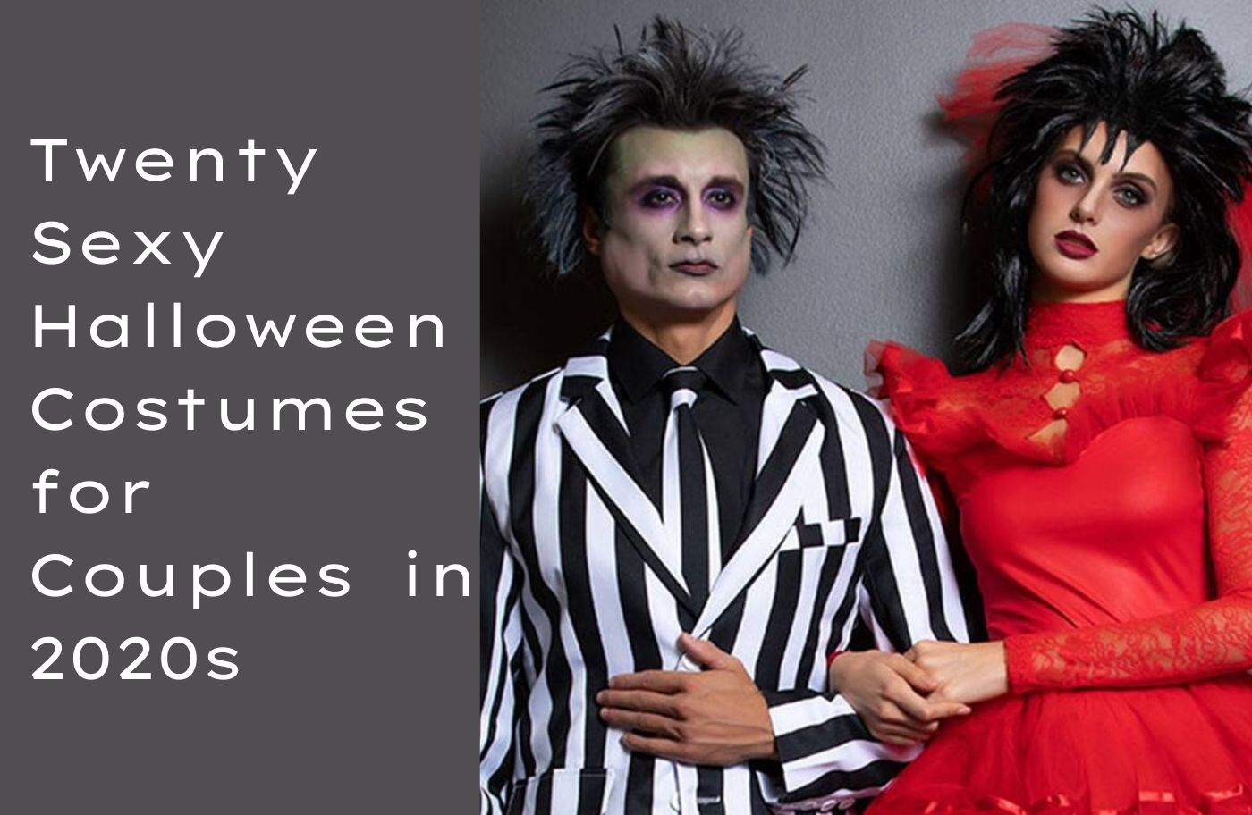 Halloween Costume Party 2021.20 Sexy Halloween Costumes For Couples In 2021 The Fashion Fantasy