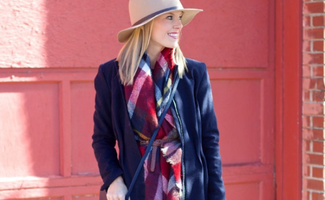 Belted Style Blanket Scarf