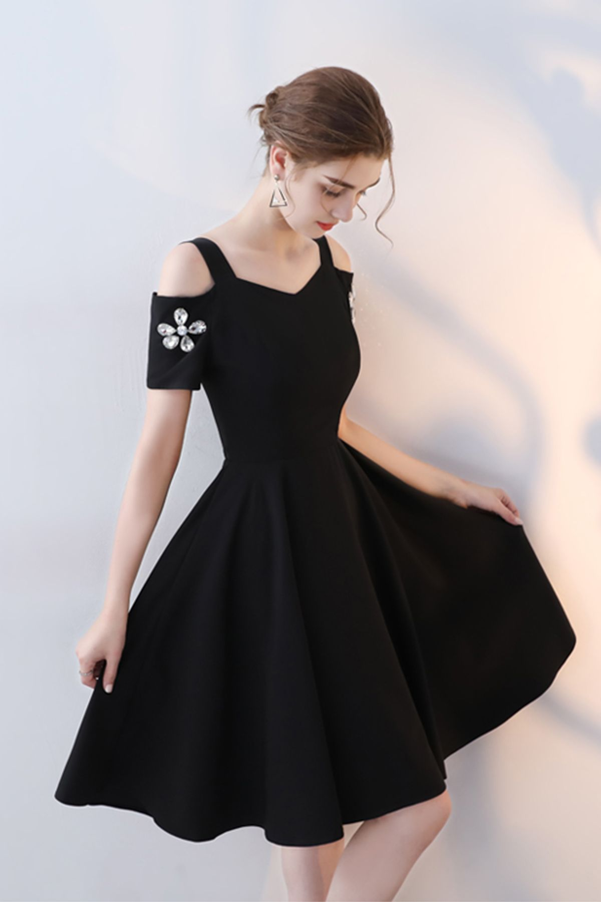 Black - Dress-Christmas Party Dresses Women