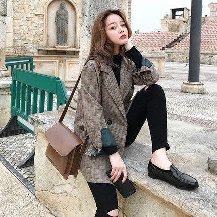 Blazer Korean street fashion