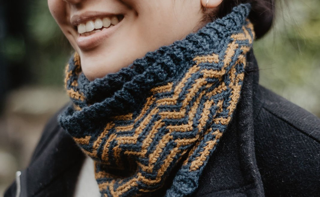 Cowl Way To Wear Scarf