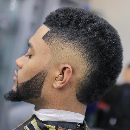 Drop-fade-Short-Hairstyle-Men