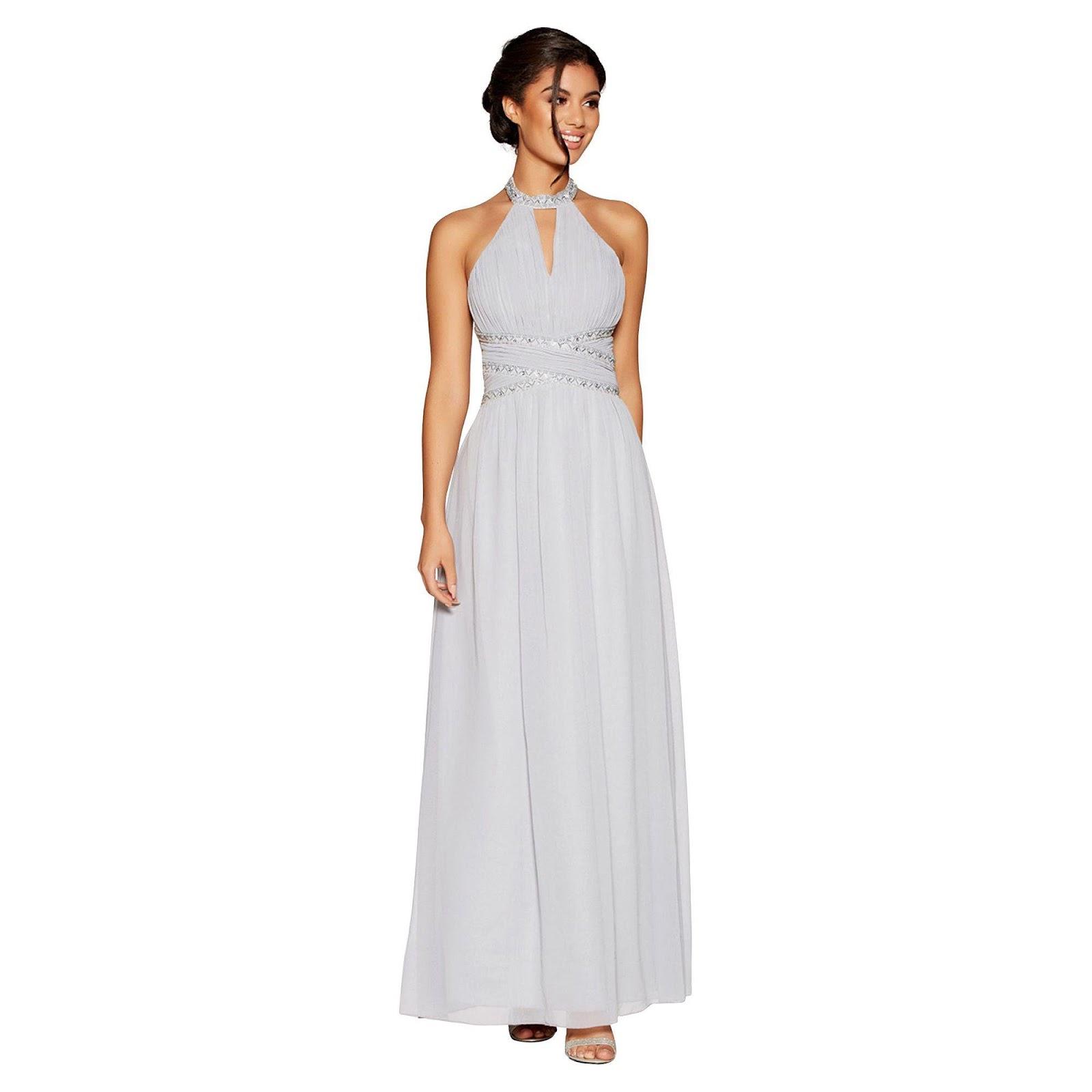 Embellished wedding dress for guest