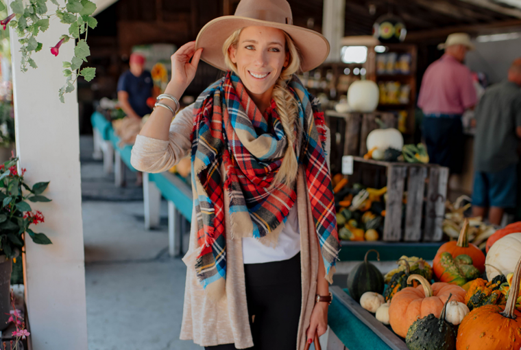Featured Style Blanket Scarf