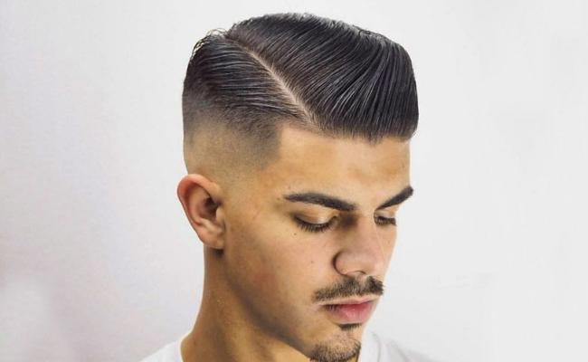 Hard part-Hairstyle-Men
