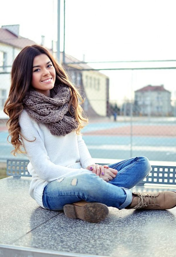 Infinity Style Blanket Scarf