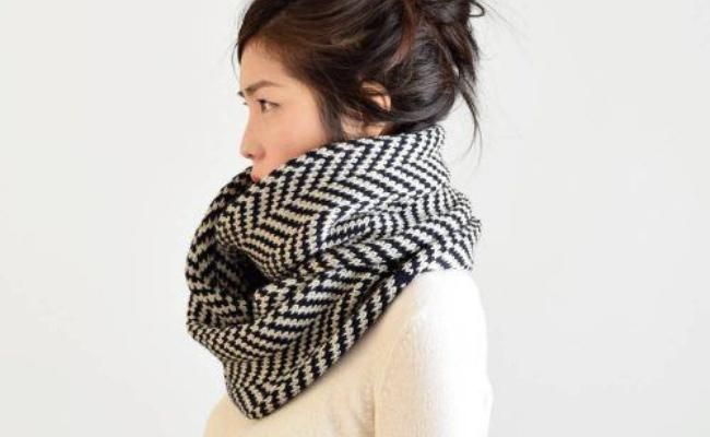 Reverse-Drape Ways To Wear Scarf