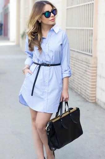 Shirt Dress Outfit Women