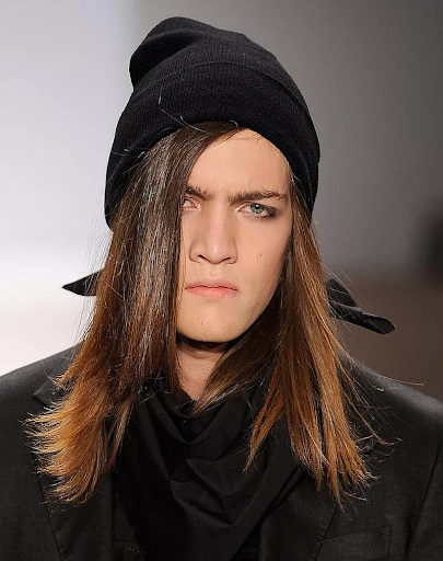 Straight and controlled hairstyles for men