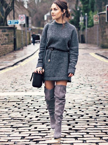 Sweater Dress First Date outfits Women