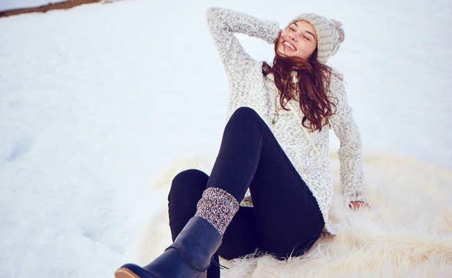 Winter Socks Outfit