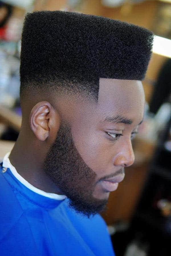 Flat-Top-Fade-Shorthair-Black-Men