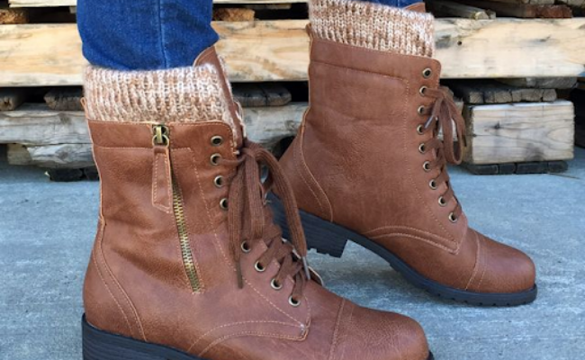 Cuffed Combat Boots how to wear combat boots