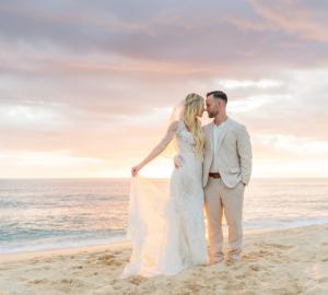 Featured Beach wedding attire for groom