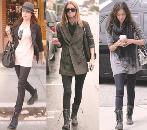 Match Neutral tones with Neutral-Toned Boots