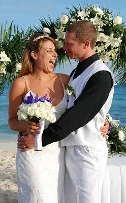 No Jacket Beach wedding attire for groom