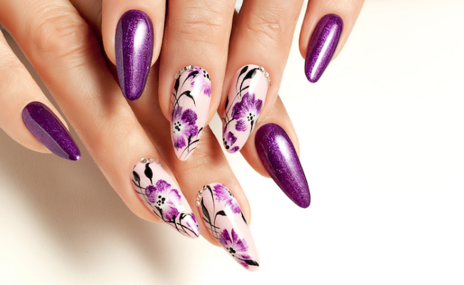 floral Nail Design Ideas