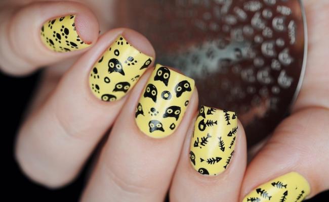kitty Nail Design Ideas